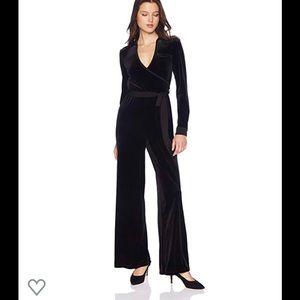 Calvin Klein velvet jumpsuit